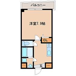 兵庫県尼崎市杭瀬寺島1丁目の賃貸マンションの間取り