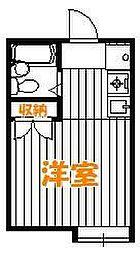 東京都葛飾区新宿5丁目の賃貸アパートの間取り