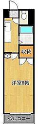 S.K.City八幡[603号室]の間取り