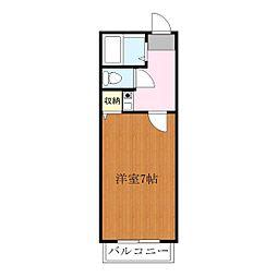 YNハウス[2階]の間取り