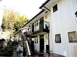 神奈川県横浜市港北区大倉山6の賃貸アパートの外観