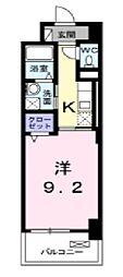 オンフォレスト芳泉[5階]の間取り