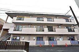 神奈川県厚木市下荻野の賃貸マンションの外観