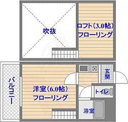 西新駅 3.3万円