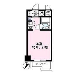 藤和横浜西口ハイタウン[6階]の間取り