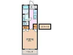 サニー生桑[2階]の間取り
