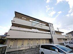 大阪府東大阪市御厨1丁目の賃貸アパートの外観