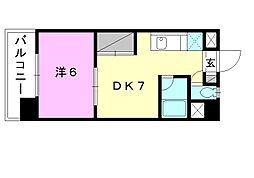 フォレストコート[403 号室号室]の間取り