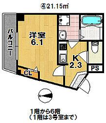 岸里玉出駅 5.5万円