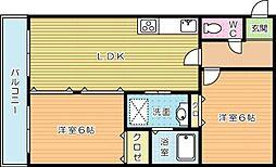 トモエビル[3階]の間取り