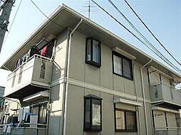 東京都練馬区平和台の賃貸アパートの外観