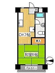 仙台柏木市街地住宅[3階]の間取り