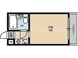 ラ・ビスタ[1階]の間取り