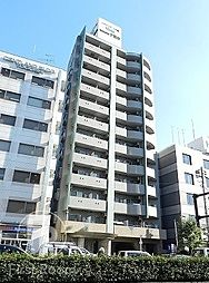 東京都品川区戸越3丁目の賃貸マンションの外観