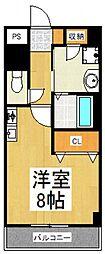 ブルック21[1階]の間取り