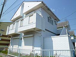 茨城県日立市東町2丁目の賃貸アパートの外観
