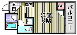 Rovere Ozaki[2A号室]の間取り