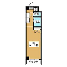 みつまめ京都[7階]の間取り