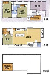 H19年築、全室南向きの家 3LDKの間取り