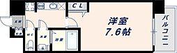 Osaka Metro中央線 緑橋駅 徒歩6分の賃貸マンション 7階1Kの間取り