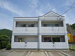 兵庫県姫路市刀出の賃貸アパートの外観