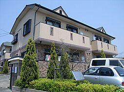 福岡県福岡市東区美和台2丁目の賃貸アパートの外観