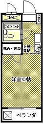なつめハイツ[2階]の間取り