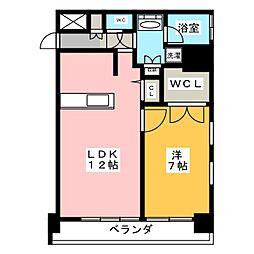 FIRST RESIDENCE SAKAE[9階]の間取り