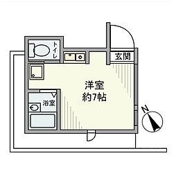 [一戸建] 東京都渋谷区神宮前2丁目 の賃貸【/】の間取り