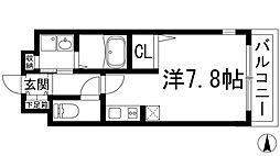 ラポール2[1階]の間取り