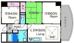 ロイヤルファミリー都古邸[3階]の間取り
