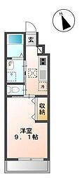 グランドメゾンII[1階]の間取り