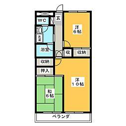 ライフステージII[3階]の間取り