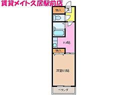 燦新町[4階]の間取り