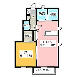 セレブル[1階]の間取り