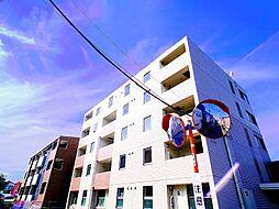 埼玉県新座市野寺1丁目の賃貸マンションの外観