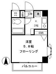 東京都世田谷区弦巻3丁目の賃貸マンションの外観