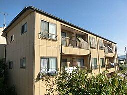 滋賀県大津市坂本7の賃貸アパートの外観