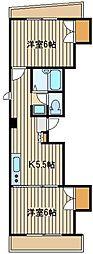 脇坂ビル[3階]の間取り