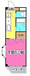 プロミネンス 21[3階]の間取り