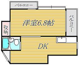 メゾンG[3階]の間取り