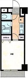 神奈川県横浜市中区宮川町3丁目の賃貸マンションの間取り