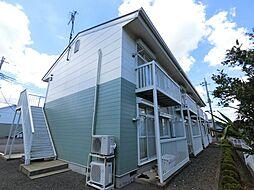 千葉県成田市西三里塚の賃貸アパートの外観
