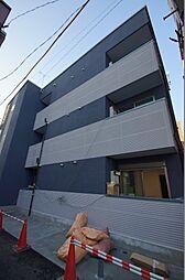 東京都大田区仲六郷1丁目の賃貸マンションの外観
