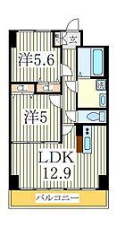 KMおおたかの森[4階]の間取り