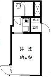 コスモ錦糸町[1101号室]の間取り
