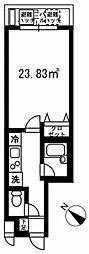 セントエルモ町田[0101号室]の間取り
