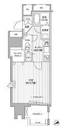 東京都豊島区東池袋2丁目の賃貸マンションの間取り