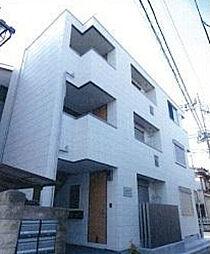 東京都北区志茂1丁目の賃貸マンションの外観