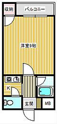 コスモレジデンス住之江[407号室]の間取り